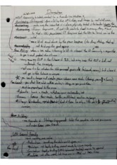 Class Notes - Intervention