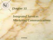 Lec 12 Integrated Marketing Communication