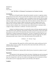 LabTheEffectofSubstrateConcentrationonCatalaseActivity