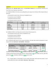 Interpreting and analyzing Financial statements Sixth edition Activity 8.docx