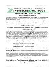 2005 physics bowl.pdf