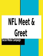 CLC Social Media Campaign- NFL Meet & Greet PowerPoint2.pptx