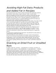 AVOID FAT PRODUCTS.rtf