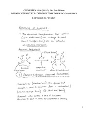 CHEM 281 2011-3 Lecture Notes 25 - WEEK 9
