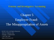 3Ed_CCH_Forensic_Investigative_Accounting_Ch05