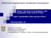 12_Sus Cities and Future