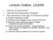 PoliSci 1 Lecture 2
