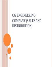 CG engineering company (Sales and Distribution).pptx