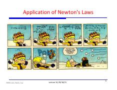 10 - Application of Newton's Laws.pdf
