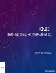 Network 01 - Connecting to and Setting up a Network (1)
