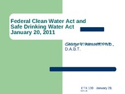 6+Federal+Clean+Water+Act