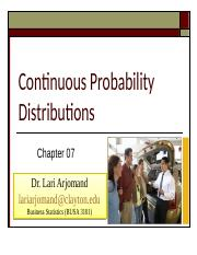 Chp7 PP Probability Distributions