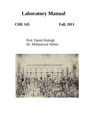 CHE 143 Lab Manual_2011(1)