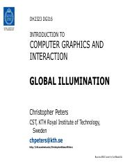 DH2323 DGI16 Global Illumination.pdf