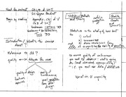 Stat 531 Statistical Method and Theory Notes