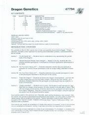 Dragon Genetics Worksheet Answer Key - Promotiontablecovers