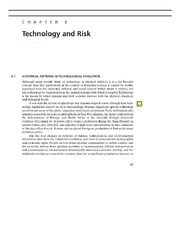Risk and Tecnology Section-Reading Materials