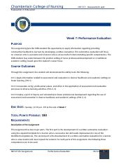 Week 7 Performance Evaluation Guidelines and Rubric_JAN20 (1).docx