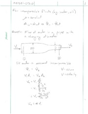 Fluid Mechanics Notes