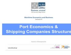 L9 - Port Economics and Shipping Companies Structure.pdf