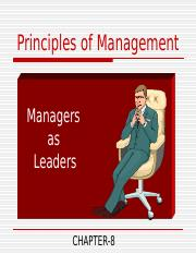 managers as leader 2010.ppt