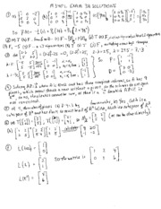 Exam 3A Solutions