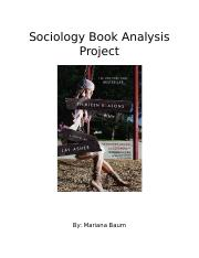Sociology Book Analysis Project.docx