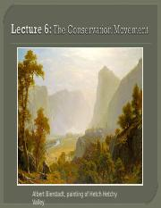 Lec 6 The Conservation Movement.ppt