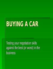 BUYING A CAR (1).ppt