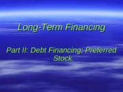Chapter 24 - Long-Term Financing_Bonds