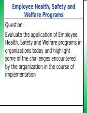 STAFF HEALTH, SAFETY AND WELFARE PROGRAMS presentation.pptx
