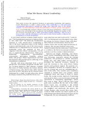 evaluating contemporary views of leadership final Evaluating contemporary views of leadership and application presentation resource: aes presentation the next step after analysis of contemporary views of leadership.