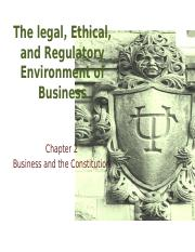 Chapter 2 Business and the Constitution(2) (1)