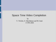 spacetime_video_completion