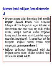 Tugas Kebijakan Ekonomi Dalam Konteks Global Ppt Kebijakan Ekonomi Dalam Konteks Global Abdulatif 17a1616sa Resu Kebijakan Perdagangan Internasional Course Hero