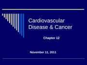 chapter 12_Cardiovascular Disease and Cancer