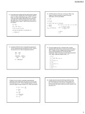 Thermodynamics sample problems 2
