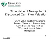 6 TVM Part 2_Discounted Cash Flow Valuation-1