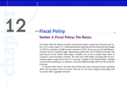 KW_Macro_Ch_12_Sec_01_Fiscal_Policy_The_Basics