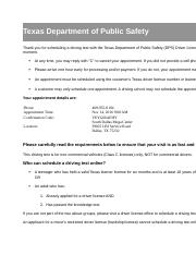 lakpa ko appointment Texas Department of Public Safety.docx