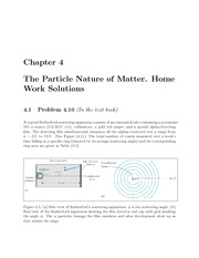 PHYS 205 Fall 2009 Chapter 4 Homework Solutions