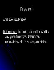 Free will.ppt