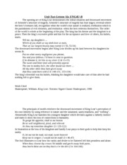 Unit Two Lesson Six ENG4U-B