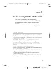 basic management