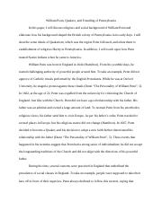 William Penn Research Paper.docx