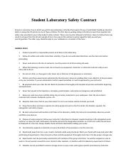 Student Laboratory Safety Contract.docx