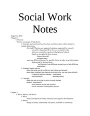 Notes! Chapter 1 & 2