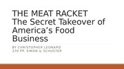 THE MEAT RACKET 2014