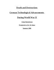 HIST 447 Paper - Germany Tech