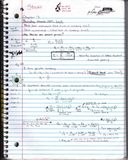 Essentials of Corporate Finance, 7th Ed  - Ch 7 & 8 Notes